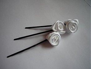 Ozdoby do vlasov - Ružičky do vlasov - 329193