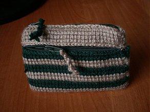 Peňaženky - Peňaženka - zeleno-sivá - 3293351