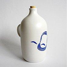 Nádoby - fľaša Ludevit modrý - 3293935
