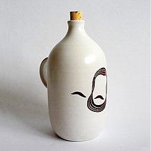 Nádoby - fľaša Ludevit hnedý - 3293941