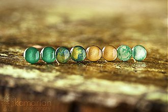 Náušnice - Naušničky vo viacerých farbách - 3295848