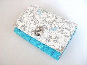 Peňaženky - Něžně romantičtí ptáčci - až na 12 karet :-) - 3302457
