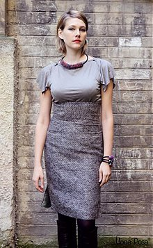 Sukne - WOOL - sukně zľava 50% - 3302932
