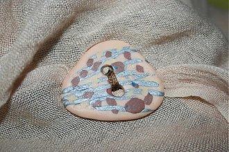 Galantéria - okrasný gombík 4 cm - 3305929