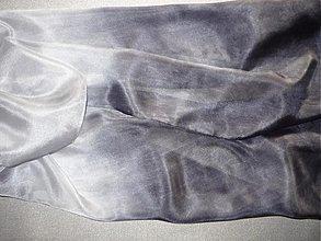 Šatky - Šál antracit - 330926
