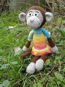 Hračky - Monkey lady - 3309639