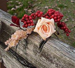Ozdoby do vlasov - Jesenná záhrada - 3312006