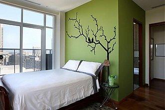 Dekorácie - Na strome - dekoratívna samolepka na stenu - 3317325