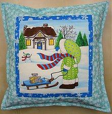 Úžitkový textil - Povlak na vankúš - Sánkovačka - 3331596