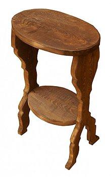 Nábytok - Vyrezávaný stolček - 3331742