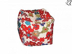 Textil - _HOPA a pestrofarebné kvetinky - 3333799