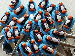 Pomôcky - Lyžička tučniačik - ide zima, bude mráz - 3335891