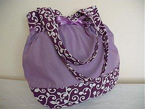 Veľké tašky - Wistéria kombinovaná - 3342923
