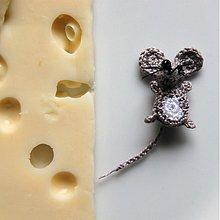 Hračky - myš mini (myšacia invázia) 2,5 cm - 3344483