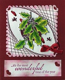 Papiernictvo - Vianočný pozdrav z lásky - 3346298
