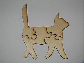 Drobnosti - Puzlle  mačka - 3347617