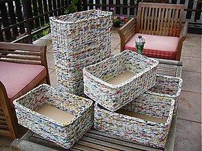 Košíky - Košíky bez morenia, lakované - 3354979