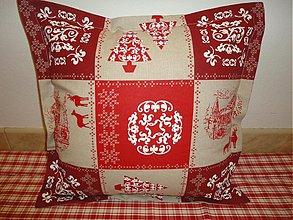 Úžitkový textil - Vankuše - Do drevenice - - 3359842