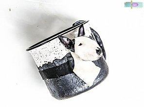 Nádoby - Hrnček s bustou psa - podľa fotografie - 3361459