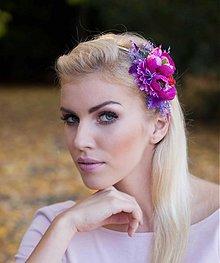 Ozdoby do vlasov - Cool Magenta by Hogo Fogo - 3361870