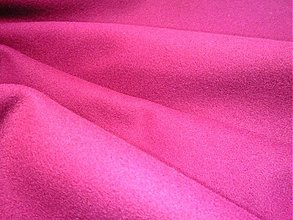 Textil - flauš cyklamenový - 3362869