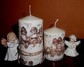 Svietidlá a sviečky - ,,anjeliky,, - 3364335