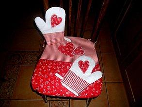 Úžitkový textil - srdiečkovo - 3368921