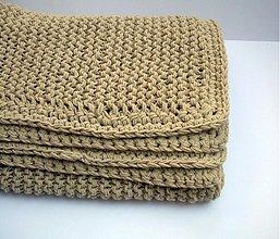 Úžitkový textil - 100% prírodná prikrývka - 3369908