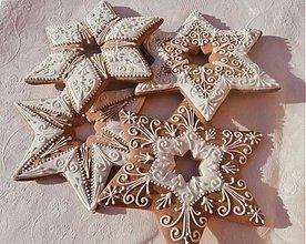 Dekorácie - Medovníková Vianočná hviezda, veľká - 3371092