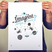Obrázky - Poster _ Can you Imagine - 3371659