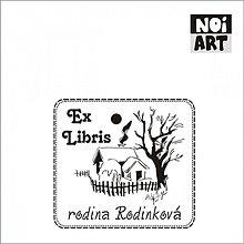 Drobnosti - Razítko EX LIBRIS chalúpka - 3373800