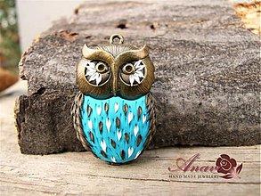 Náhrdelníky - B092 náhrdelník Owl  - 3374949