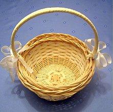 Košíky - Košíčky pre malé družičky - 337643