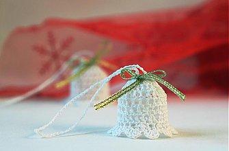 Dekorácie - Vianočná ozdoba Zvonček - 3377198
