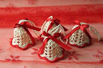 - Vianočné ozdoby - Sada zvončekov - 3378377
