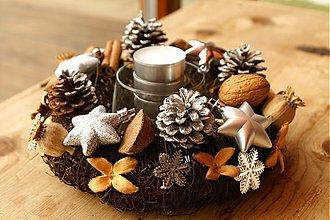 Dekorácie - Vianočný venček - 3380025