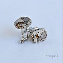 Šperky - Strojkové manžetové knoflíčky - 3381050