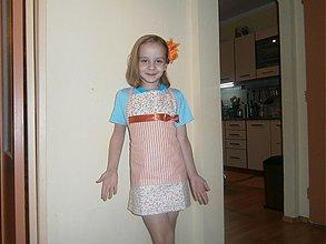 Iné oblečenie - Detská kuchynská zástera - 3382486