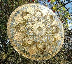 Dekorácie - Mandala plná jasu a ľahkosti 2 - 3383620