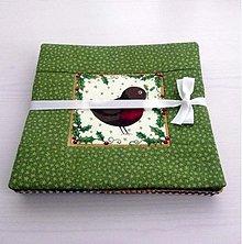 Úžitkový textil - Yuletide - Vianočné podšálky 3 - 3385449