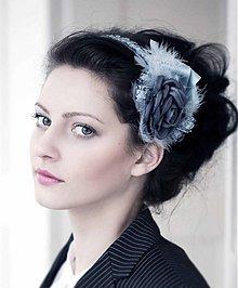 Ozdoby do vlasov - Grey by Hogo Fogo - 3386537