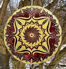 Dekorácie - Mandala Energia & Hojnosť - 3389517