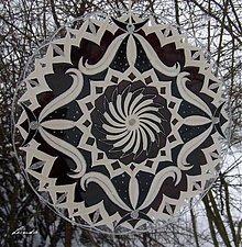 Dekorácie - Mandala..Noblesná - 3389531