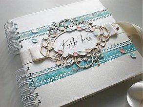 Papiernictvo - Svadobná kniha hostí - 3392060