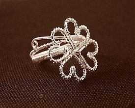 Prstene - Ďatelinka, prsteň - 339474