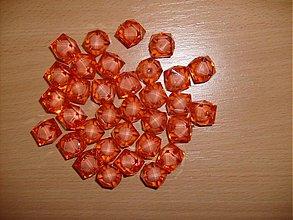 Korálky - červené - 3395909