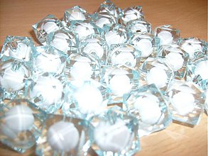 Korálky - modré korálky - 3395920