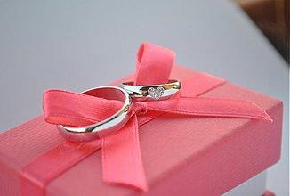 """Prstene - Obrúčky """"moje srdiečko"""" argentum - 3396107"""