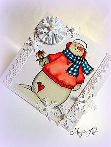 Papiernictvo - Fešáčik Snehuliačik - 3398009