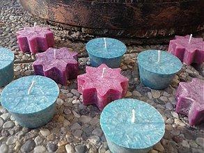 Svietidlá a sviečky - plávajúce sviečky/10ks - 3405440